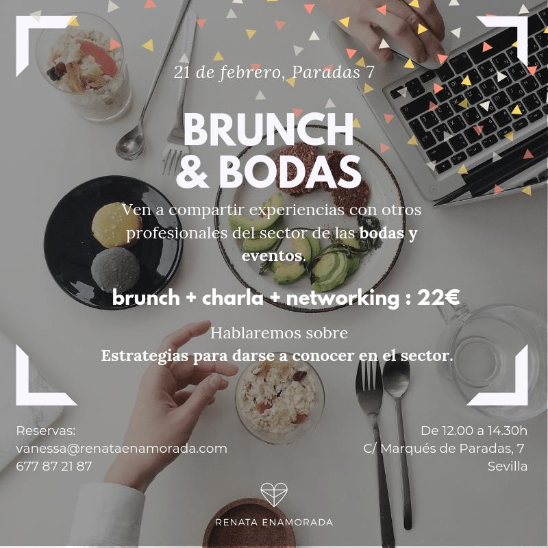 Brunch & Bodas. El 1º encuentro de Networking del sector bodas en Sevilla